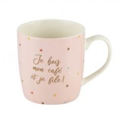 "Mug LEMAN ""Je file"" de..."