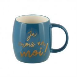 "Mug ""je crois en moi"" de..."