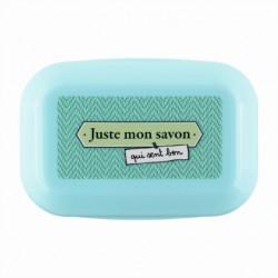 """Boite à savon """"juste mon..."""