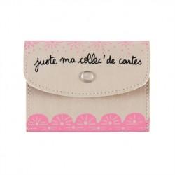"""Porte-cartes""""Naomie"""" juste..."""