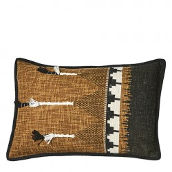 Coussin coton-polyester...