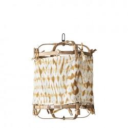 Lampe bambou+coton...