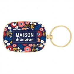"""Porte-clés """"Maison d'amour""""..."""