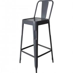 Chaise de bar en métal...