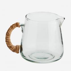 Petit pot à lait verre et...