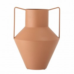 Vase métal brun...