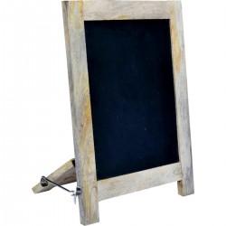 Tableau noir, cadre bois,...