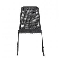 Chaise de jardin noir...