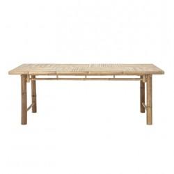 Table de jardin bambou...