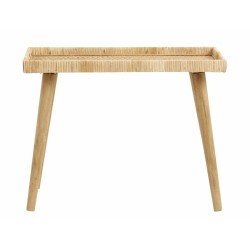 Table d'appoint rotin nature