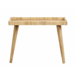 Table d'appoint rotin nature S