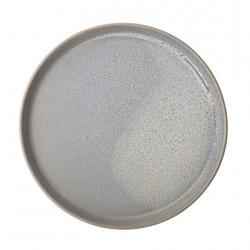 Assiette céramique gris,...