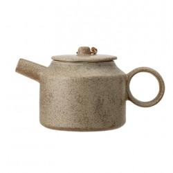 Théière céramique brun de...